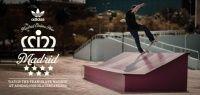 Videos Adidas Skateboarding Madrid - Tour Adidas pela Espanha passando por Madri, campanha de março 2013 com a presença dos grandes nomes da equipe como Mark Gonzales, Dennis Busenitz, Silas Baxter-Neal, Rodrigo TX, Pete Eldridge, Benny Fairfax, Nestor Judkins, Mark Suciu, Lem Villemin.