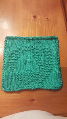 Knitt A+ Teach dish cloth