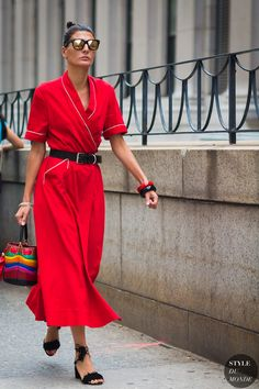 Giovanna Battaglia Englebert by STYLEDUMONDE Street Style Fashion Photography