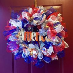 A personal favorite from my Etsy shop https://www.etsy.com/listing/265700022/deco-poly-mesh-full-size-americana-4th