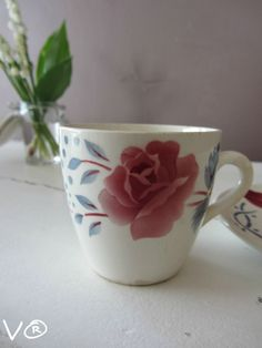 016 Digoin French stoneware mug