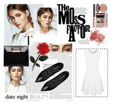"""""""Untitled #18"""" by everyday789 ❤ liked on Polyvore featuring Charlotte Tilbury, Rebecca Minkoff, Yves Saint Laurent and Balenciaga"""