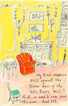 lveo:  I forget about Maira Kalman a lot on the endless search for new things to look at, but there is nothing more beautiful than this. From the And The Pursuit of Happiness blog.