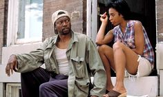 T.K. Carter (Greg) and Khandi Alexander (Fran) in the HBO adaptation of The Corner.