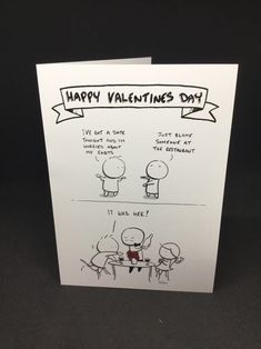 Valentines Table Manners A humorous Valentine's Day Card for the awkward guy in your life! Irish Design, Table Manners, Happy Valentines Day, Awkward, Guy, Greeting Cards, Humor, Gifts, Gift Ideas