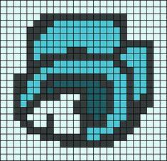 Easy Perler Bead Patterns, Perler Bead Templates, Diy Perler Beads, Perler Bead Art, Cross Stitch Patterns, Minecraft Banner Designs, Minecraft Pixel Art, Pixel Pattern, Pattern Art