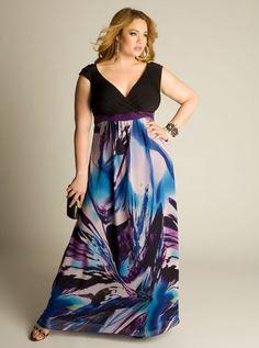 plus size Dress Slit Sleeves - Buscar con Google