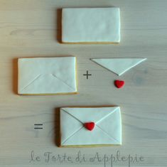 step by step envelope~ Sweet & simple