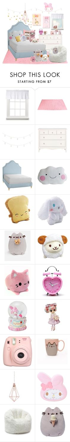 """""""Kawaii Room"""" by kittykitty83 ❤ liked on Polyvore featuring interior, interiors, interior design, home, home decor, interior decorating, Pier 1 Imports, Serena & Lily, Pusheen and INC International Concepts"""