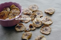 Bananen-Chips ohne Zucker Garlic, Stuffed Mushrooms, Low Carb, Snacks, Vegetables, Food, Sheet Pan, Oven, Sugar
