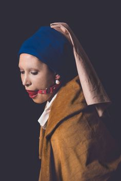 Fetish Reloaded I - Girl with a Pearl Earring by Manuel Colombo