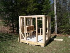 A CLEAR CUT LAYOUT DESIGN FOR A CHICKEN COOP HOUSE/SHED Coopa