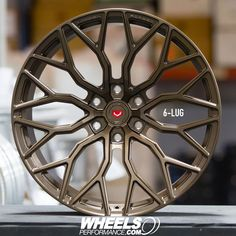 Brand new 6-Lug Vossen Forged S17-02 wheels finished in Satin Bronze. These forged wheels are available in 48 different colors and are made right here in Miami Florida at the Vossen state of the art factory. Reach us at 1.888.239.4335 or @WheelsPerformance for your free quote. Worldwide shipping available.