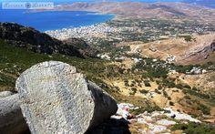 Tο Ρωμαϊκό νταμάρι - the Roman quarry - Karystos - Evia