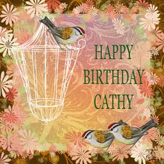 Cathy Happy Birthday Card