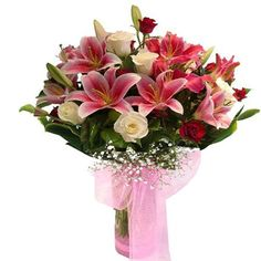 Get Fresh and quality flowers for the decoration of b'day parties. Place an order now and get your favorite flowers at your home.