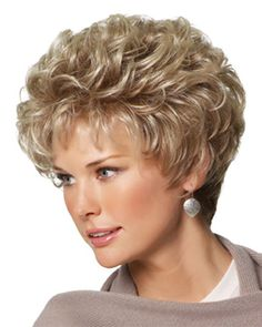 Gabor Cheer Synthetic wigs are just one of our wigs from our wide selection take advantage of our instant discounts on wigs by Gabor. Short Brown Hair, Short Hair With Layers, Short Curly Hair, Short Hair Cuts, Curly Hair Styles, Short Sassy Haircuts, Modern Haircuts, Short Hairstyles For Women, Great Haircuts