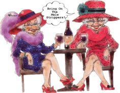 Humor old ladies