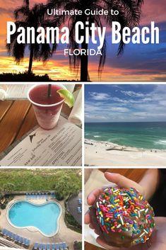 Panama City Beach Florida, Panama City Panama, Florida Beaches, Visit Florida, Florida Travel, Florida Vacation, Usa Travel Guide, Travel Usa, Canada Travel