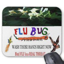 2013 Bird FLU Mouse Pad