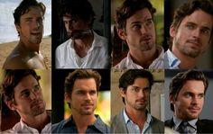 White Collar Season 4, Fifty Shades Of Grey, 50 Shades, Ahs Characters, Matt Bomer White Collar, Neal Caffrey, Comic, Most Beautiful Man, Tony Stark