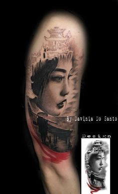 Geisha tattoo