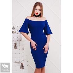Платье Glem «Мальфа2 К/Р» (Электрик) http://lnk.al/4aru  #лук #нарядныеплатья #платье #платьемечты #топ #новинки #одеждаУкраина #4m #4m.com.ua