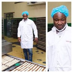 As a Gala brand ambassador, this is what you do at their factory. #HarrySong #Chef #ShareTheGala