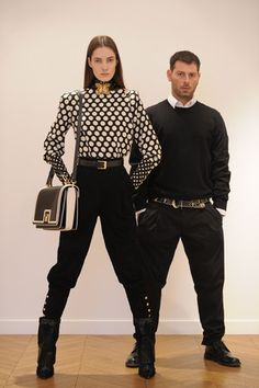 A preview look from Ungaro Fall Winter 2013 collection by Fausto Puglisi.
