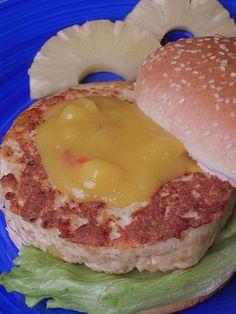 """Hamburguesas """"tropicales"""" (de pollo con mango)   CocotteMinute   Bloglovin'"""