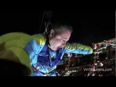 VinSolutions' Sean Stapleton up close video of jumping off the stratosphere in Las Vegas at 2012
