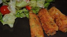Ricetta Bastoncini di verdure: Bastoncini di verdure, ovvero delle crocchette di patate gustosissime arricchite e colorate da pezzettini di verdure. Ottimi sia fritti che cotti al forno, cicalinas. ci spiega come prepararli.