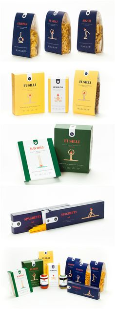 Student Concept for Brand and Packaging Design for Healthy Pastas Design Agency: Danielle Moore Brand / Project Name: Om Pasta Location: Israel Category: #Food #pasta  World Brand & Packaging Design Society
