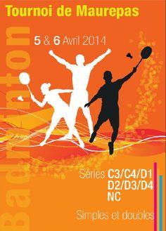Badminton : affiche_tournoi_Maurepas_2014