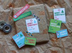des tags pour vos cadeaux et vos créations...