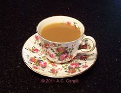 Tea and Remembering Mom (Photo source: A.C. Cargill, all rights reserved)