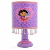 dora bedroom decorations   Dora the Explorer Room Decor in a Box Set ..... Dora Lamp