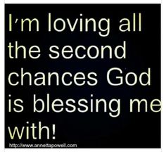 Second chances? Are you kidding me? We are up to more than that on some of this stuff! But oh my goodness is He ever faithful! He's never failed me. has never let me down, and keeps loving me through everything. Uplifting Quotes, Positive Quotes, Faith Quotes, Bible Quotes, Spiritual Wisdom, Religious Quotes, Inspirational Thoughts, Quotes About God, Names Of Jesus
