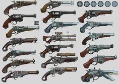My concept snake gun for mobile game Monster Heart Model-Nikolay Chugunov https://www.artstation.com/artwork/XDJxw
