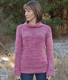 I'm going to actually have to start knitting sweaters soon, because I keep finding patterns I adore, like this one! // Eased (Bulky Version) by Alicia Plummer