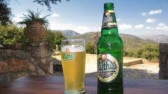 We have Heineken in Holland, the greece have Mythos.