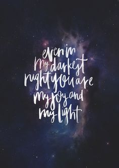 """Even in the Darkest Night- original print from The Worship Project.Based on lyrics from Darlene Zschech's song """"Always Singing Your Praise"""" from Youth Alive NSW's album """"Jump to the Jam""""If you haven't already, have a look at the all-new Worship Project Blog. I share my thoughts behind the art.* * *TWP OnlineStore // Instagram @the365worshipproject // Facebook"""