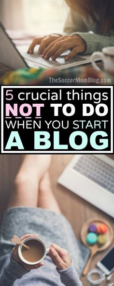 If you're thinking about starting a blog, you'll want to read this! How to grow your blog easier and make money faster by avoiding these common mistakes.