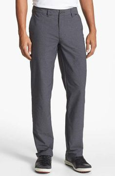 Travis Mathew 'Hough' Trim Fit Golf Pants available at Golf Fashion, Mens Fashion, Golf Pants, Dressed To Kill, Mens Golf, Gentleman Style, Straight Leg Pants, Dapper, Pajama Pants