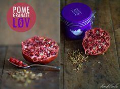Lovely Pomegranate Tea - Give a little love - Lov Organic herbal tea