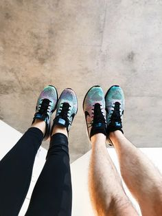 [LPU] his & hers - multicolor flyknit racers 2.0