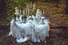 Fairy garden desserttable project   www.marangona.hu Wedding clothes by Agota Nagy Girls Dresses, Flower Girl Dresses, Dessert Tables, Shots, Fairy, Wedding Dresses, Garden, Flowers, Projects