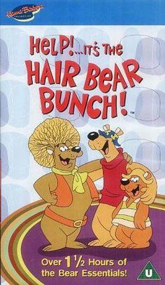A nostalgic look back at the Hanna Barbera cartoon (with video) featuring Hair Bear, Square Bear, Bubi Bear and Mr. Classic Cartoon Characters, Classic Cartoons, 1970s Childhood, My Childhood Memories, Hanna Barbera, 80s Kids, Kids Tv, Good Cartoons, 70s Cartoons