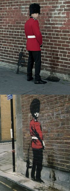 Nick Stern Works - Real Life Banksy