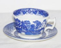 wood & sons cup & saucer england - Google Search